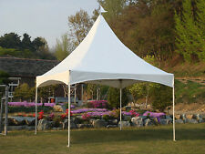 Eurmax White Canopy Outdoor Party Event Commercial Gazebo High Peak Marquee Tent
