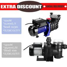 600W/1200W Swimming Pool Pump Spa Water Electric Self Priming Pressure Filter AU