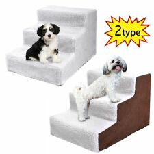 Portable Dog Pet Stairs Steps Indoor Ramp Folding Animal Cat Ladder with Cover