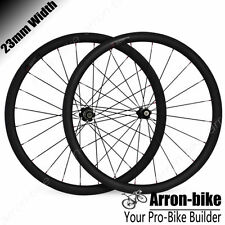 700C 38mm Deep Clincher Road Bike Standard Carbon Wheelset Carbon Wheels