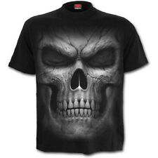 Spiral Shadow Master Front Print Unisex T-Shirt Black [Special Order] - Gothic,G