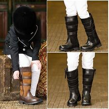 White Horse Equestrian EFL 1184 Ladies Kids Horse Riding Country Boots