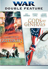 Gods and Generals/Gettysburg (DVD, 2007, 2-Disc Set)