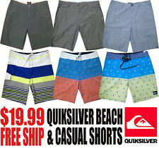Quiksilver Men's NWT Beach, Surf and Casual Walking Shorts (Free Shipping)