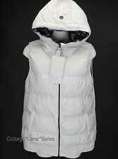 NEW LULULEMON Chilly Chill Puffy Vest 10 12 Ghost Inky Floral Goose Down NWT