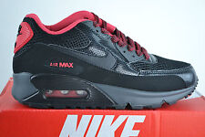 Nike Air Max 90 WMNS Leather Black Shoes Trainers shoe Size Selectable