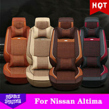 Ice Silk Headrest Car Seat Cover For Nissan Altima Comfort Seat Protect Pad M99G