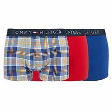 Tommy Hilfiger Mens Pack Of Three Assorted Hipster Trunks From Debenhams