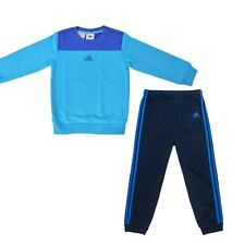 adidas boys blue/navy infant/baby tracksuit. Jogging suit. Sizes 0M - 4Y