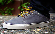 Vans Shoes 106 Vulc Charcoal Pig Suede USA SIZE BMX Skateboard Sneakers