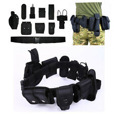Utility Nylon Tactical Duty Belt Police Security Replacement Law Military Keeper