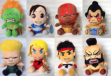 """STREET FIGHTER SOFT PLUSH TOYS - 10"""" TALL - SITTING (25CM) 8 TO CHOOSE FROM:"""
