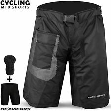 MTB Cycling Short Off Road Bicycle BMX Downhill Padded Liner Shorts