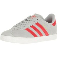 Adidas Originals Gazelle Youth Clear Onix Suede Trainers Shoes