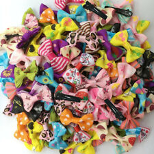 Dogs mix bow Dog Puppy Hairpins Pet Grooming cat ribbon hair clip accessories