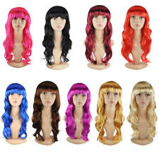 2014 New Women's Long Curly Wigs Cosplay Costume Ladies Wig - AS T3K6
