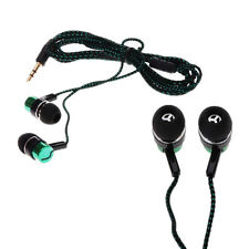 Stereo Earphone MP3/Mp4 Metal Earbud Roping Ear Headphone Chic Subwoofer 3.5mm