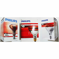 Philips Infrared Heat Light Lamp E27 Bulb 100W 150W 250W 220V 230V physiotherapy
