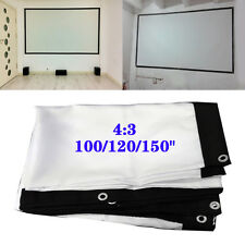 4:3 Outdoor Home M99G Projector Screen HD Cinema Theater 100/120/150inch Beyond