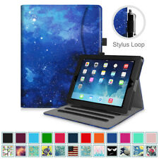 For Apple iPad 2 3 4 Smart Case Cover Multi-Angle Folio Stand with Card Pocket