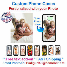 Custom Selfie Photo Picture Phone Cover Case for iPhone Samsung LG HTC iPod iPAD