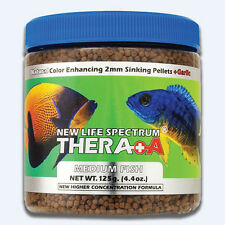Spectrum THERA +A FISH FOOD 1mm Sinking Pellets,Color-Enhancing-60g,125g Or 250g