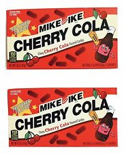 2X Boxes Mike & Ike Cherry Cola Flavored Chewy Candy 5 oz x-2018 Limited Edition