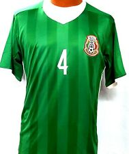 New! Green Jersey R. Marquez #4 Mexico Home Soccer Jersey
