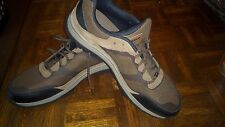 New Balance Mens Abzorb 669 Hiking Walking Shoes Size 13.0 Brown Leather Mesh