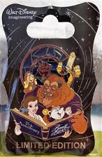 WDI D23 DISNEY BEAUTY AND THE BEAST 25TH ANNIVERSARY PIN LE 250 BELLE BEAST BOOK