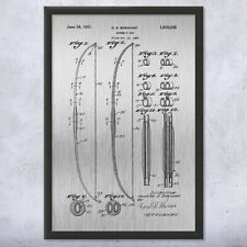 Framed Archery Bow Patent Print Gift Bow And Arrow, Archery Patent, Archery Gift