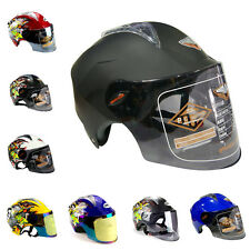 S-XL Adult Beyond Motorcycle Riding Flip Up Single Lens DOT Graffiti Helmet M99G