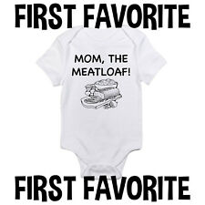 Mom Meatloaf Baby Onesie Bodysuit Shirt Shower Gift Funny Infant Unisex Gerber