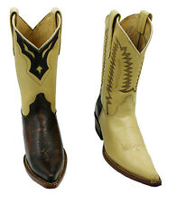 Ladies Genuine Cowboy Leather Rodeo Boots