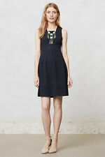 NIP Anthropologie Embossed Blooms Dress by Maeve Sz XL Runs Small