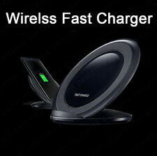 Real Qi Wireless Fast Charger Pad for Samsung Galaxy S9 S8 Note 8 iPhone X Plus