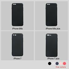 For Apple iPhone7 6 6S Plus Full Cover Dirt Shockproof Protective TPU Slim Case