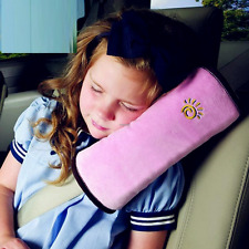 Child Kids Car Safety Seat Belt Shoulder Strap Pad Pillow Cushion Head Support