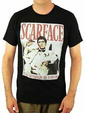 The World is Yours Scarface T-Shirt - Tony Montana Shirt