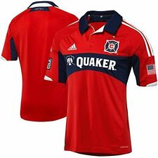 NEW ADIDAS Chicago Fire Authentic Home Soccer Jersey USA MLS MRSP $120