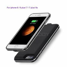 Ultra Thin External Battery Case Backup Power Bank Charging Cover for iPhone 7 6