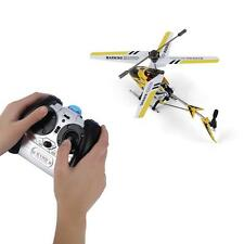 2 Colors 3 CHannels Mini Helicopter with Gyroscopic Control Remote Control RC S*