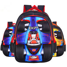 New 3D Car Cartoon Child Kid Shoulders Bag Breathable EVA Backpack Schoolbag