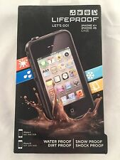 LifeProof iPhone 4/4s Black or White Case - Water, Snow, Dirt And Shock Proof