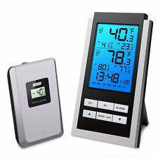 Oria Wireless Weather Station, Temperature Monitor Indoor Outdoor, LCD
