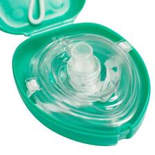 Adult/Child CPR Pocket Resuscitator Rescue Mask,CPR Face-Mask with O2 port