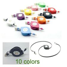 Retractable USB Data Sync Charger Cable For iPhone 5 5C 5S 6 7 Plus iPod Touch