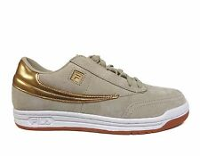 FILA Men's GOLD MINE ORIGINAL TENNIS Shoes Cream/Gold 1VT13058-926 b