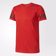 adidas Performance FREELIFT CLIMACOOL MEN'S TRAINING TEE,SCARLET-S,M,L,XL Or 2XL