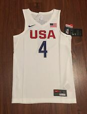 Stephen Curry White Team USA Basketball Nike Youth Replica Jersey New With Tags